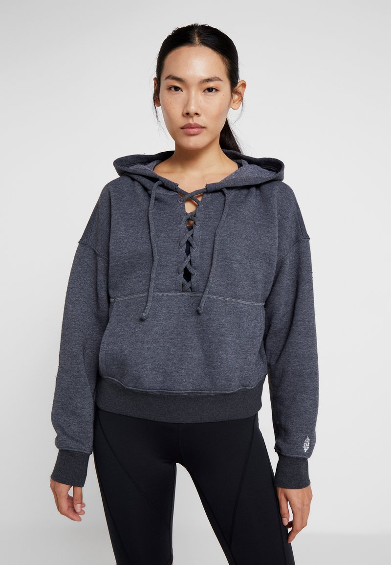 Free People - FP MOVEMENT BELIEVE IT SWEAT - Mikina s kapucí - black