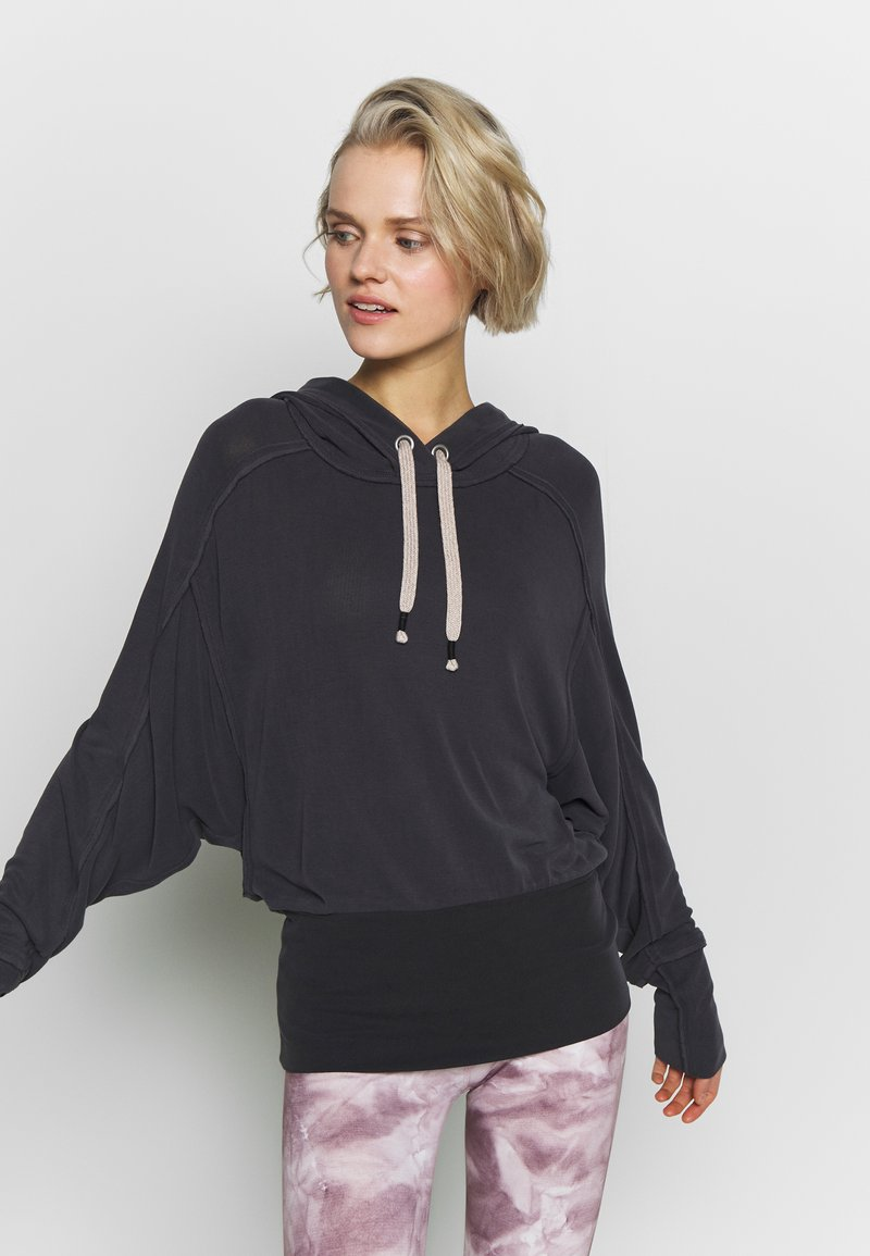 Free People - READY GO HOODIE - Sweat à capuche - black