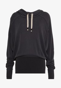 Free People - READY GO HOODIE - Hoodie - black - 4