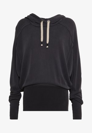 READY GO HOODIE - Sweat à capuche - black