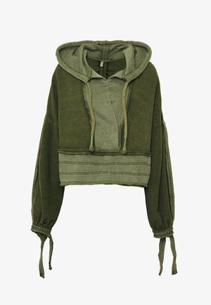 HALF COURT - Jersey con capucha - olive