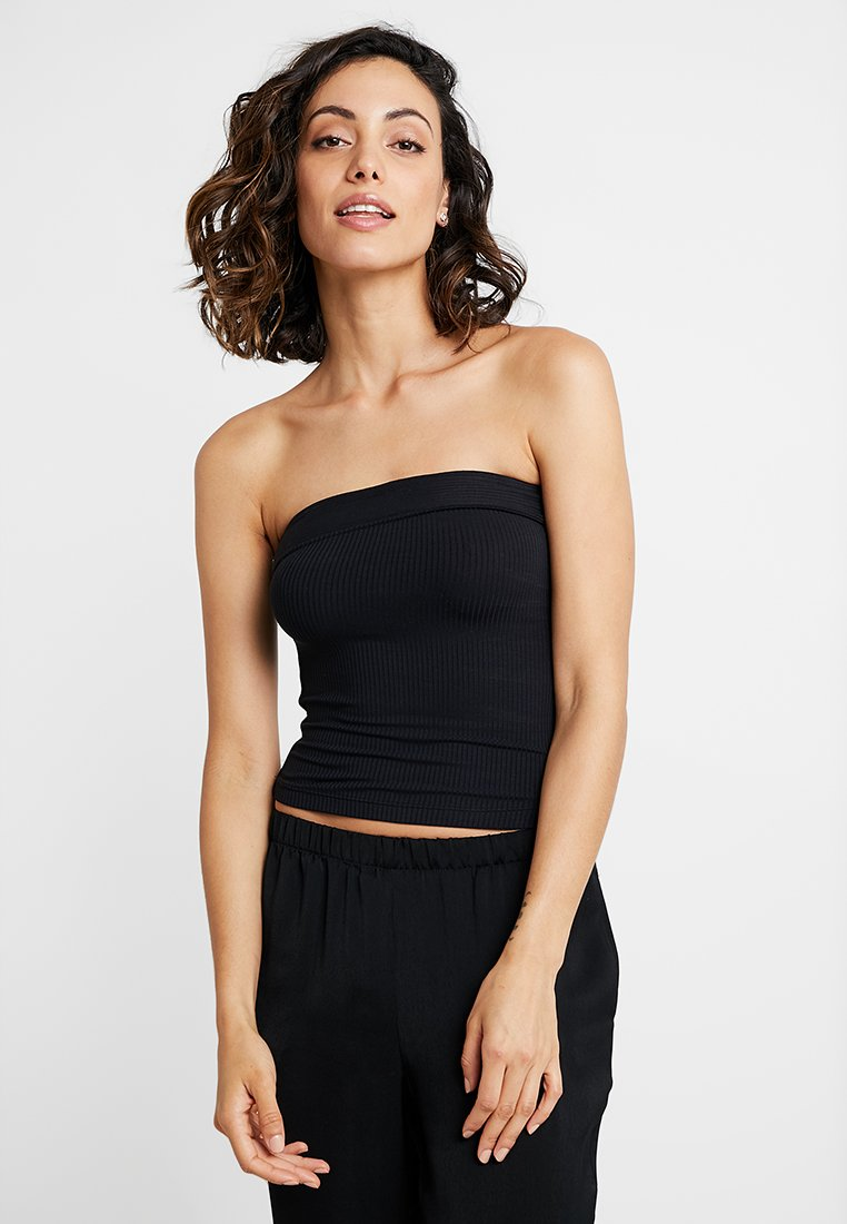 Free People - SHOW ME SOLID TUBE - Tílko - black
