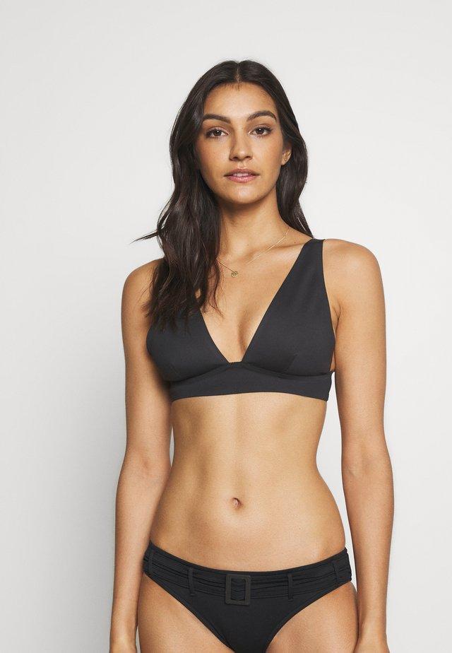 ERIN BRALETTE - Bikini pezzo sopra - black