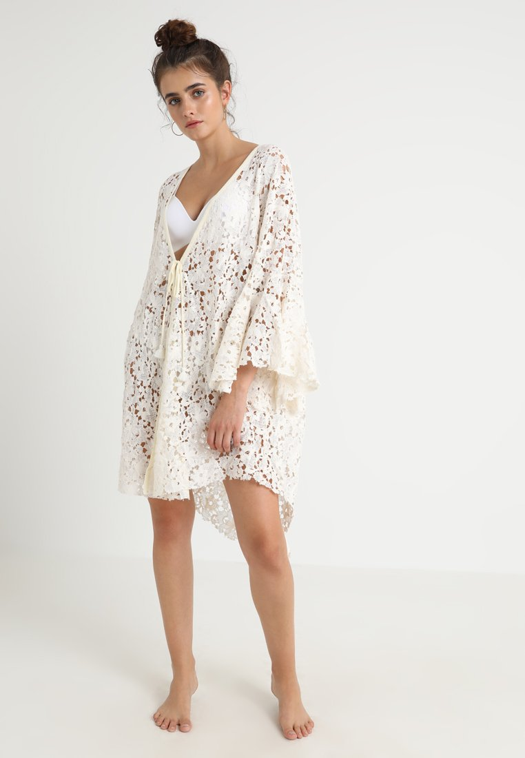 Free People - MOVE OVER - Szlafrok - ivory