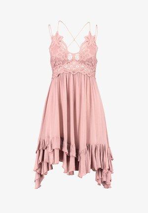ADELLA SLIP - Vestido informal - rose