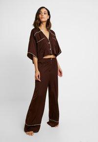 Free People - SHINE TIME SLEEP SET - Pyjamas - brown - 1