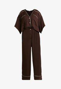Free People - SHINE TIME SLEEP SET - Pyjamas - brown - 4