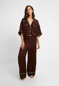 Free People - SHINE TIME SLEEP SET - Pyjamas - brown - 0
