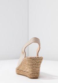 Fred de la Bretoniere - Korkeakorkoiset sandaalit - sand - 5