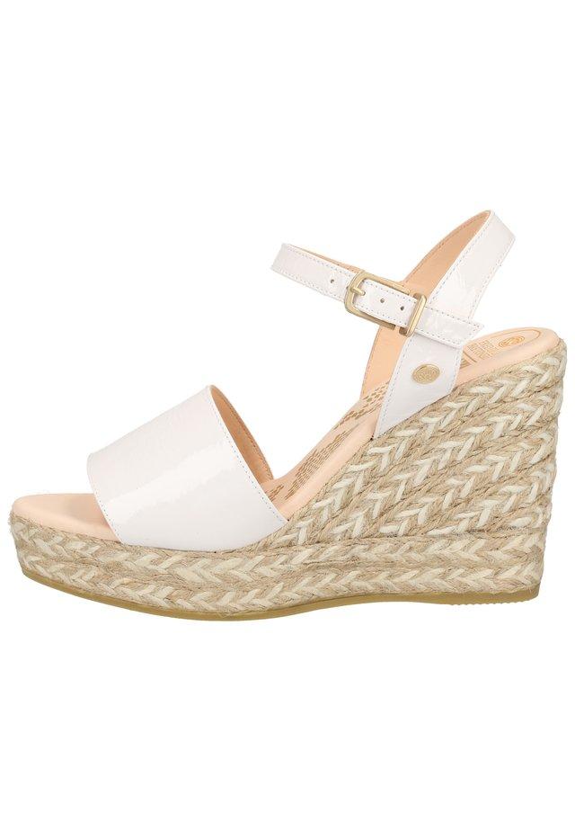 FRED DE LA BRETONIERE SANDALEN - Højhælede sandaletter / Højhælede sandaler - white  1571