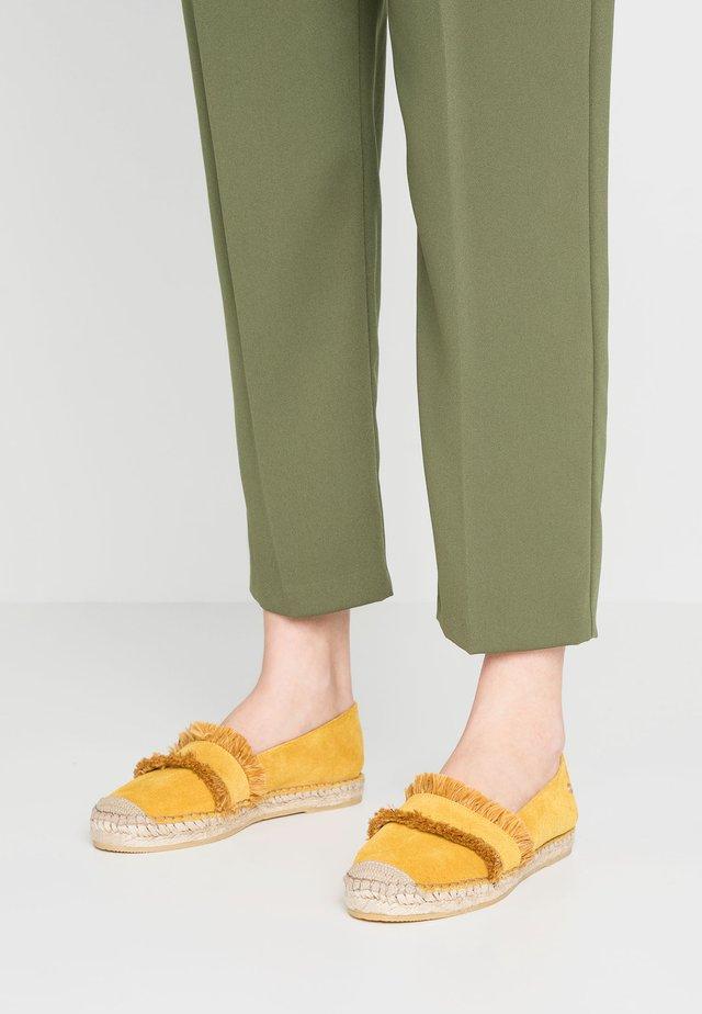 Espadrillos - yellow