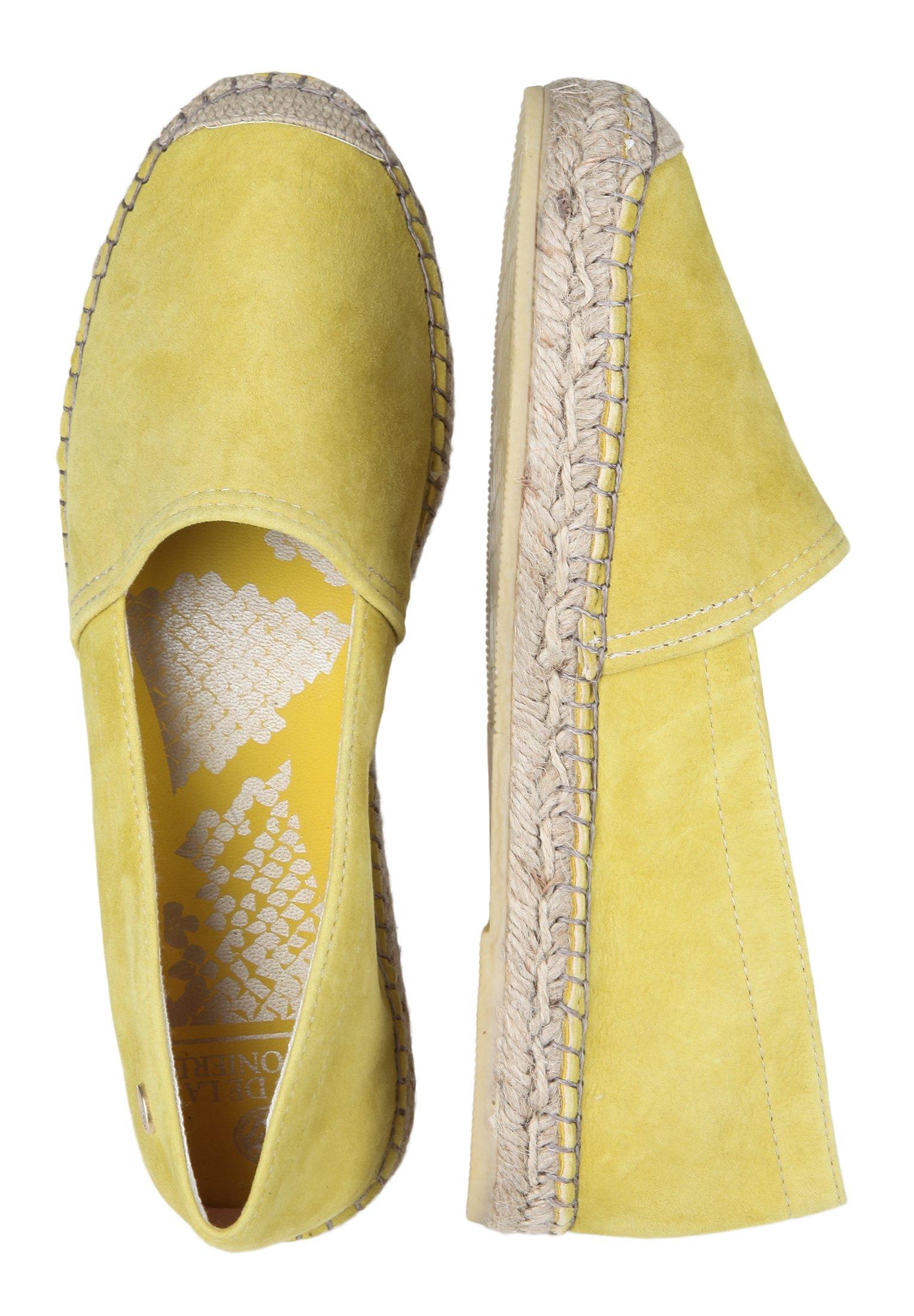 Fred De La Bretoniere Espadrille Loafer - Espadrilles Yellow