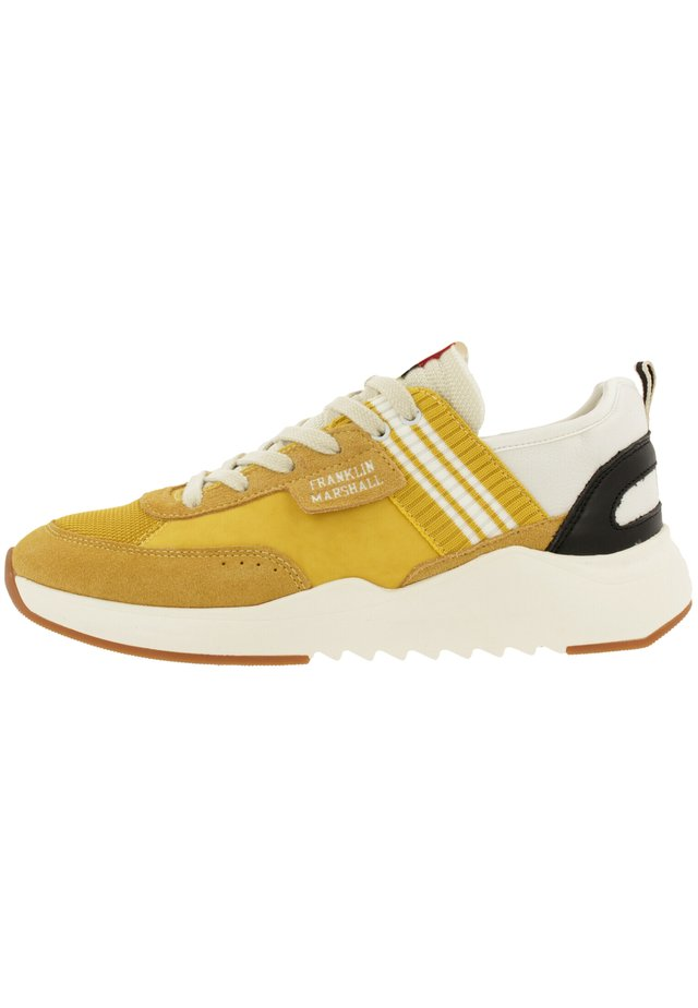 Trainers - ylw-wht