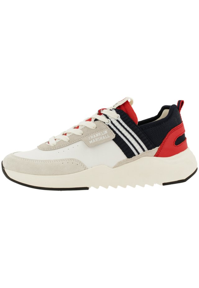 Trainers - wht-nvy