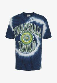 Franklin & Marshall - T-shirt med print - navy - 3