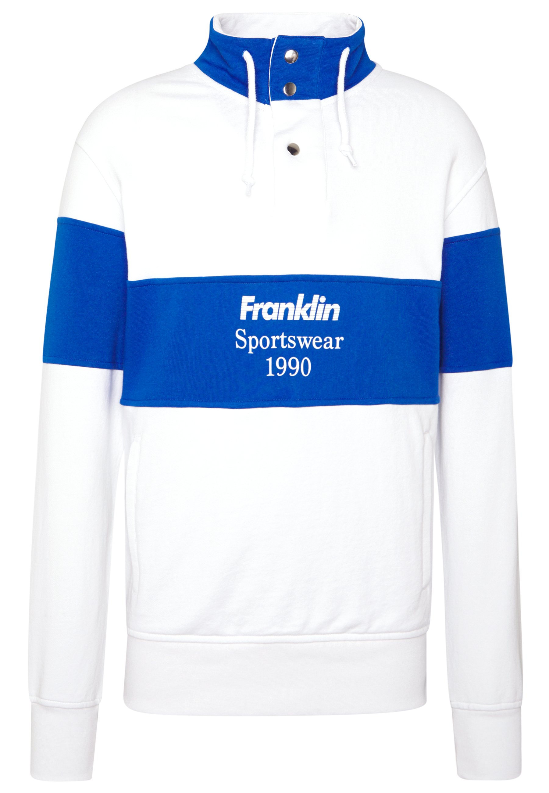 Franklin & Marshall Sweatshirt - Block Color White