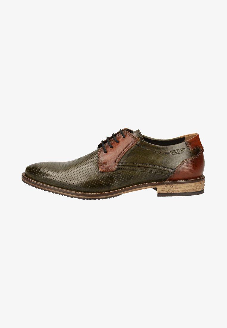 Fretz Men - Business sko - green