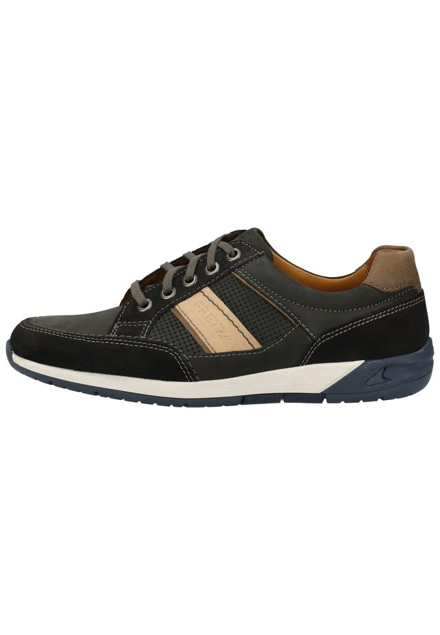 FRETZ MEN SNEAKER - Trainers - green/black