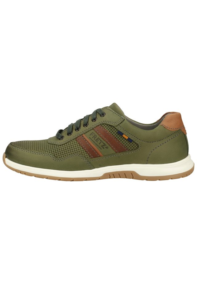 FRETZ MEN SNEAKER - Trainers - dark green 44