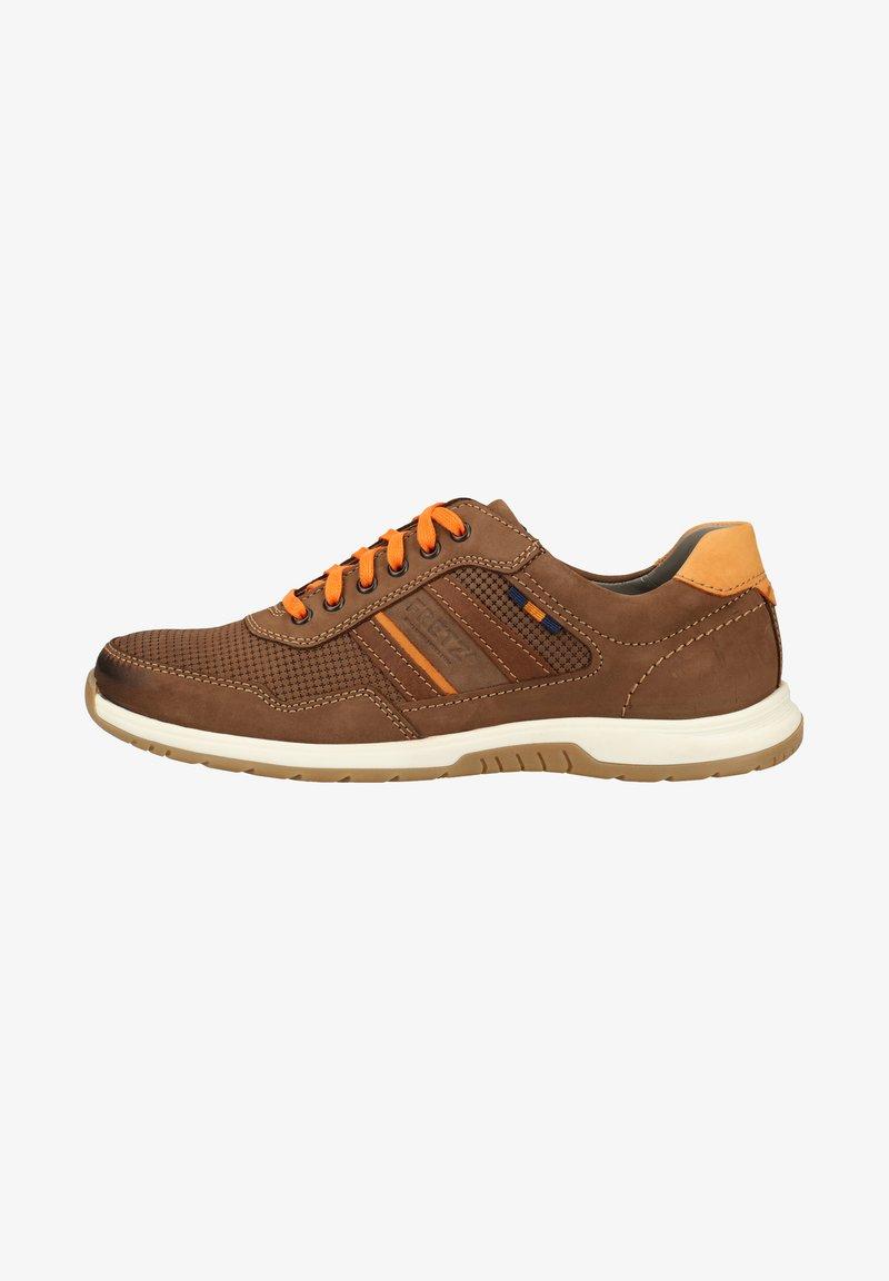 Fretz Men - FRETZ MEN SNEAKER - Sneakers - brown