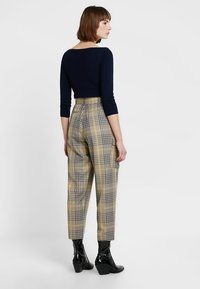 French Connection - AISHAH BELTD HGH WAIST - Trousers - multi - 2