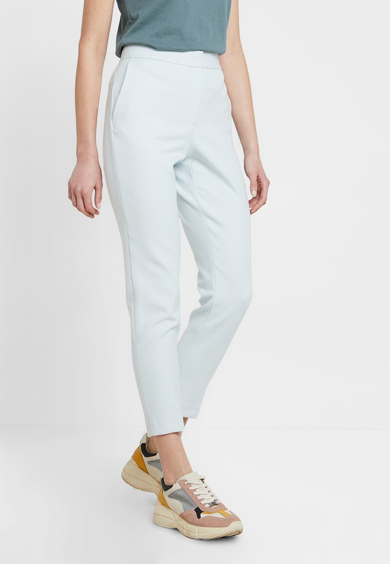 French Connection - SUNDAE SUITING TAILORED - Trousers - light dream blue