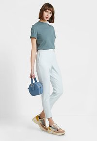 French Connection - SUNDAE SUITING TAILORED - Trousers - light dream blue - 1