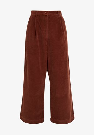 MANZU WIDE LEG TROUSERS - Trousers - casablanca