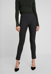 French Connection - CALIMERO MINI DOGTOOTH - Leggings - Trousers - grey - 0