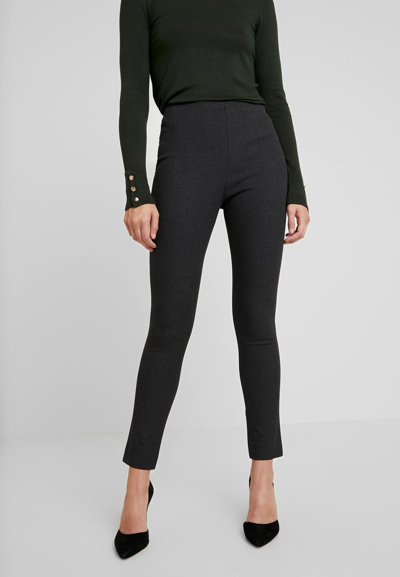 French Connection - CALIMERO MINI DOGTOOTH - Leggings - grey
