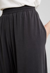French Connection - RENYA CUPRO CULOTTES - Trousers - black - 4