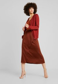 French Connection - ALESSIA DRAPE SKIRT - Maxi skirt - casablanca - 1