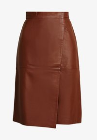 French Connection - ABRI KNEE LENGTH SKIRT - A-lijn rok - casablanca - 3