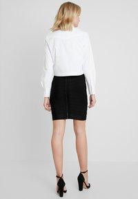 French Connection - ZASHA - Pencil skirt - black - 2