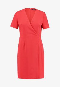 French Connection - WHISPER RUTH WRAP DRESS - Shift dress - fire coral - 5
