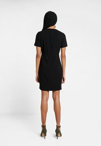 French Connection - WHISPER RUTH WRAP DRESS - Shift dress - black - 3