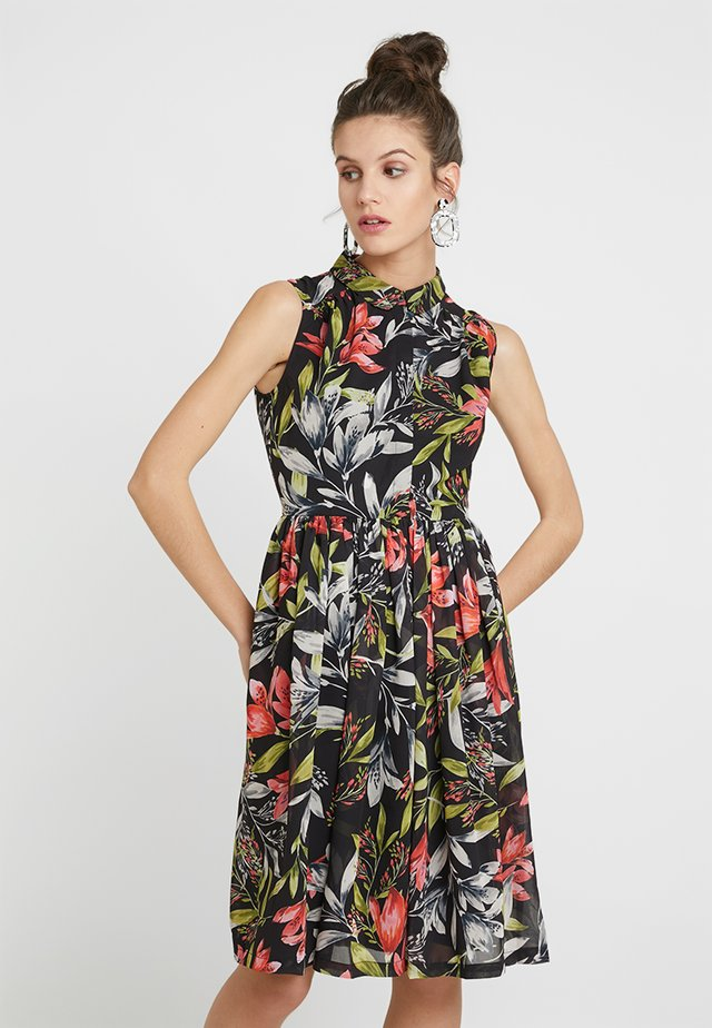 CADENICIA - Sukienka letnia - black/multi