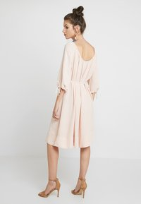 French Connection - EZMIYA SOLID 3/4 - Day dress - apricot - 2