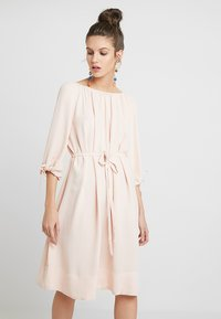 French Connection - EZMIYA SOLID 3/4 - Day dress - apricot - 0