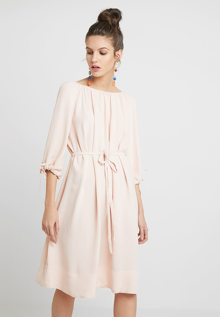 French Connection - EZMIYA SOLID 3/4 - Day dress - apricot
