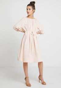 French Connection - EZMIYA SOLID 3/4 - Day dress - apricot - 1