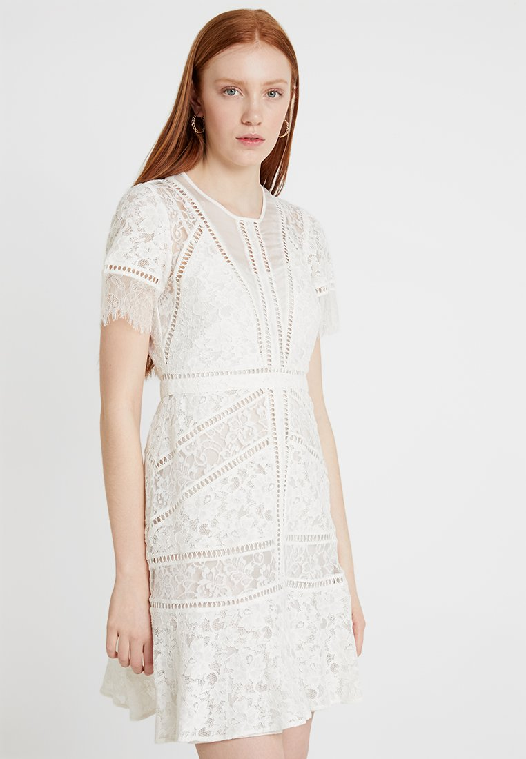 French Connection - CHANTE MIX DRESS - Cocktail dress / Party dress - summer white