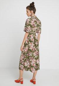 French Connection - FLORIANA DRAPE MIDI - Shirt dress - multi - 3