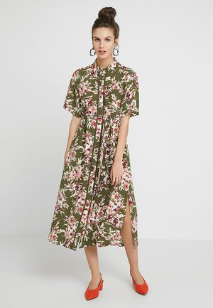FLORIANA DRAPE MIDI - Shirt dress - multi