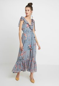 French Connection - CECILE SHEER DRESS - Maxi dress - multi - 0