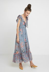 French Connection - CECILE SHEER DRESS - Maxi dress - multi - 1