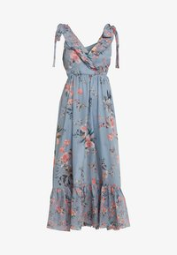 French Connection - CECILE SHEER DRESS - Maxi dress - multi - 4