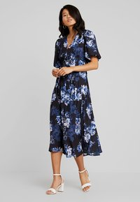 French Connection - CATERINA DOWN - Maxi dress - utility blue multi - 1