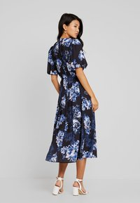 French Connection - CATERINA DOWN - Maxi dress - utility blue multi - 2