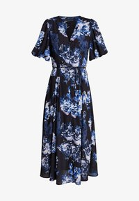 French Connection - CATERINA DOWN - Maxi dress - utility blue multi - 4